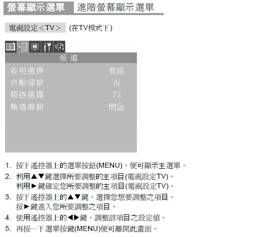 奇美多媒体液晶显示器DTL-732E300型使用说明书