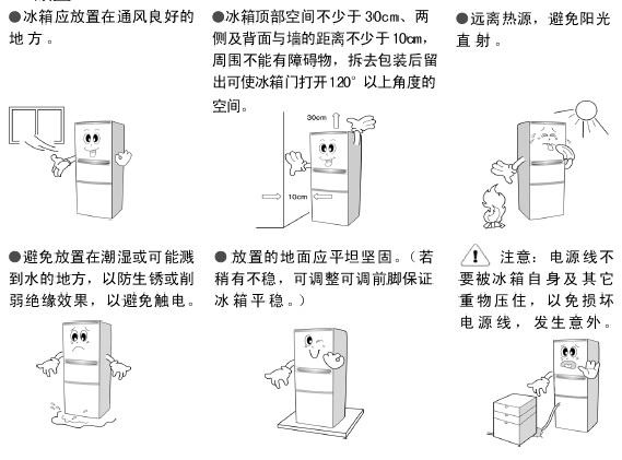 伊莱克斯电冰箱BCD-281EA型使用说明书