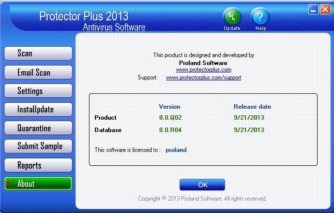 Protector Plus 2013 Antivirus
