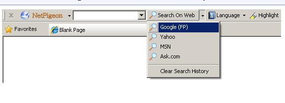 NetPigeon Toolbar