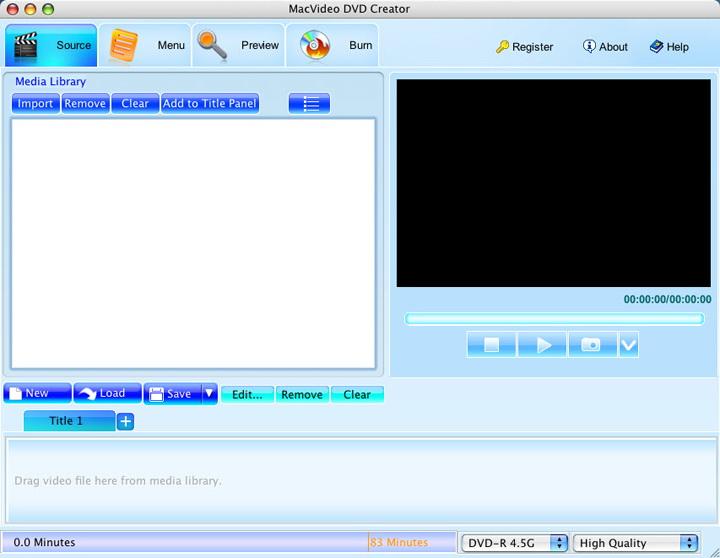 MacVideo DVD Creator For Mac