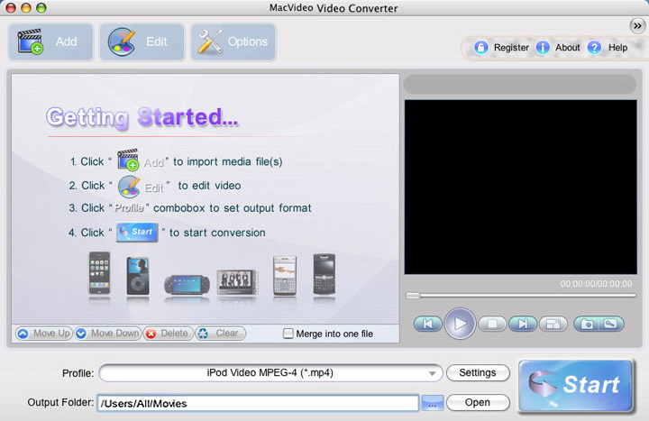 MacVideo Video Converter For Mac