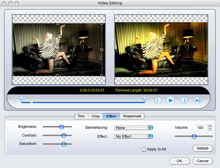 MacVideo MP4 Converter For Mac