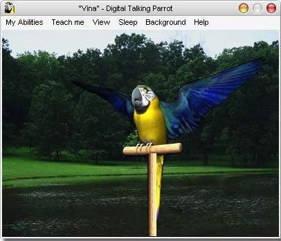 AV Digital Talking Parrot