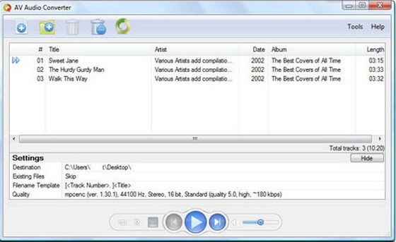 Audio4fun AV Audio Converter