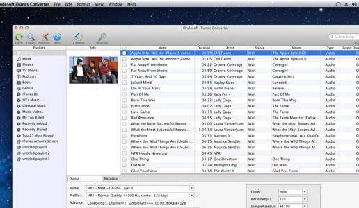 Ondesoft iTunes Converter For Mac