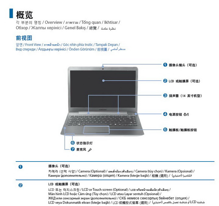 三星ATIV Book 540U3X笔记本电脑说明书