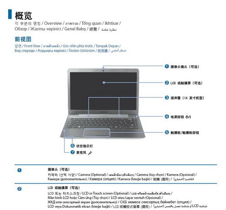 三星ATIV Book 535U4X笔记本电脑说明书