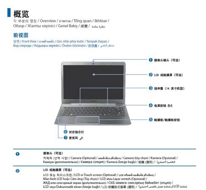三星ATIV Book 535U3X笔记本电脑说明书