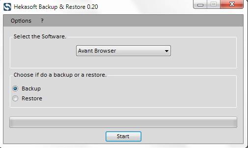 Hekasoft Backup Restore