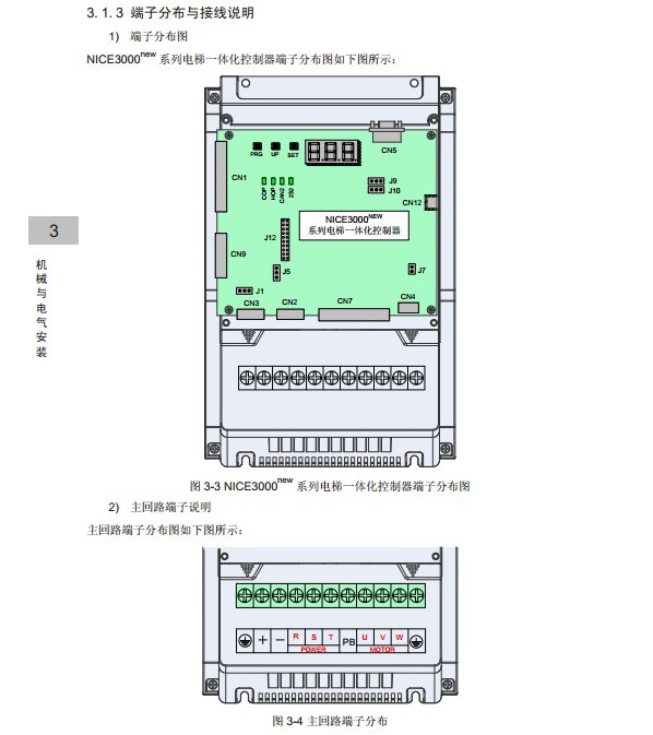 汇川NICE-L-C-4002电梯一体化控制器用户手册