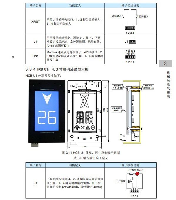 汇川NICE-L-C-4011电梯一体化控制器用户手册