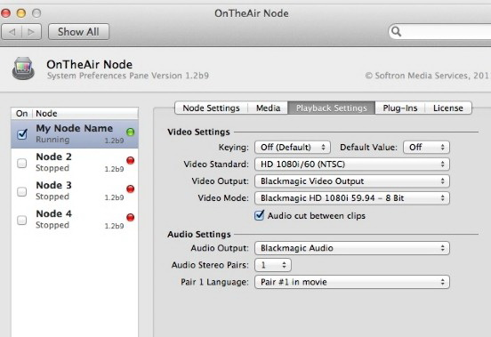 OnTheAir Node For Mac