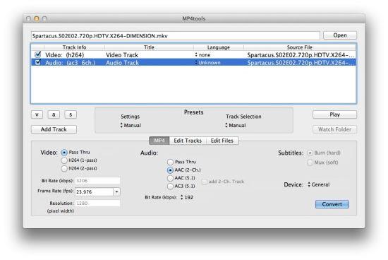 MKVtools For Mac