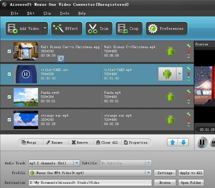 Aiseesoft Nexus One Video Converter