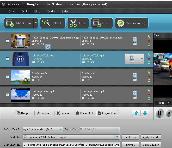 Aiseesoft Google Phone Video Converter