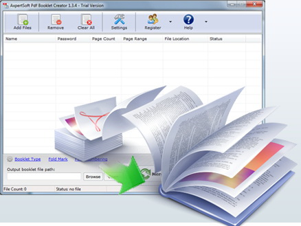 Pdf booklet imposition tool