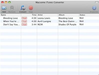 Macsome iTunes Converter for Mac