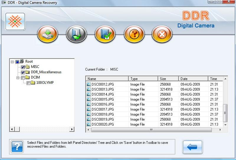 Digital Camera Picture Restore