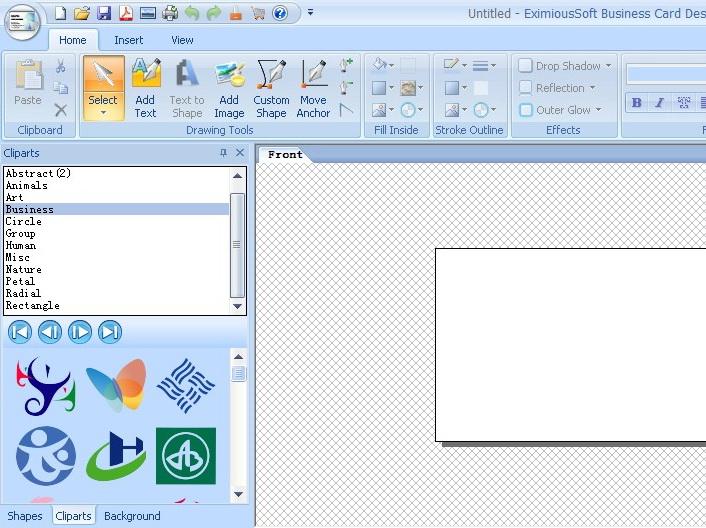 Business Card Designer Program