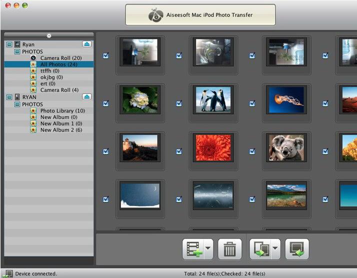 Aiseesoft Mac iPod Photo Transfer
