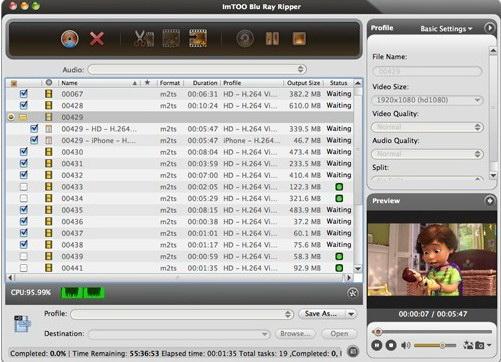 ImTOO Blu Ray Ripper for Mac