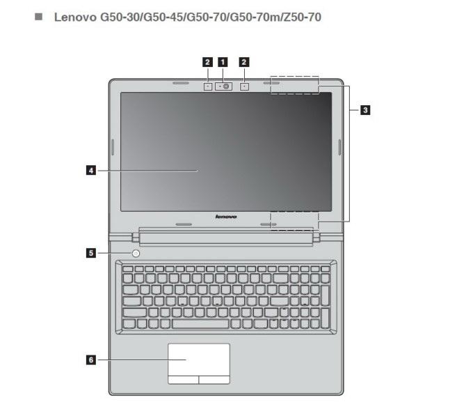 联想Z50-70笔记本电脑使用说明书