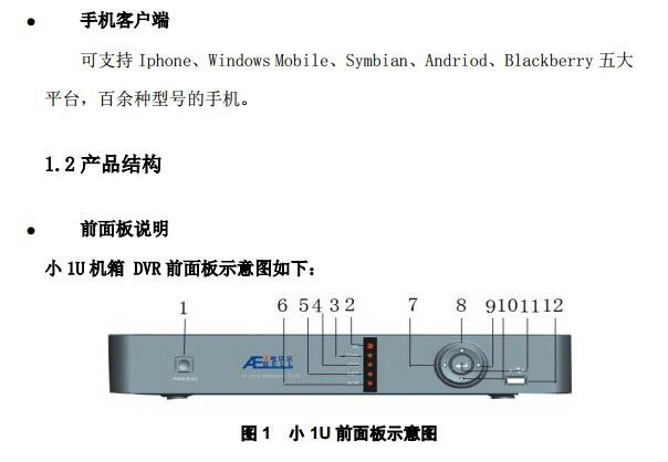 美电贝尔SDI高清数字硬盘录像机使用说明书