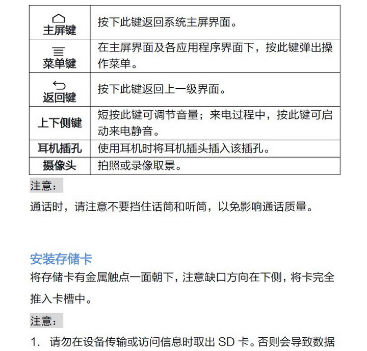 海信HS-T959S1手机说明书