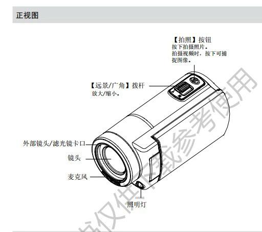 先锋D0510A数码相机说明书