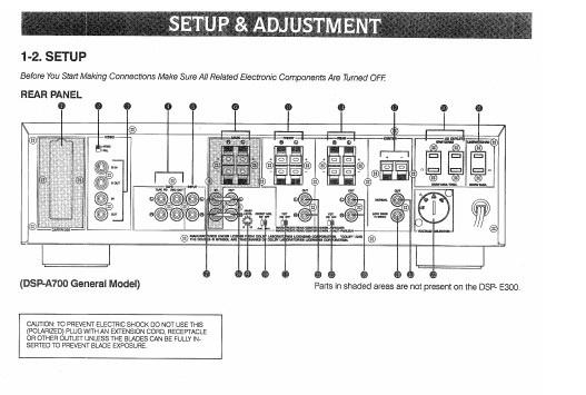 雅马哈DSP-E300声乐处理器说明书