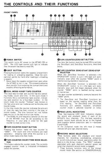 雅马哈MT44D声处理器说明书
