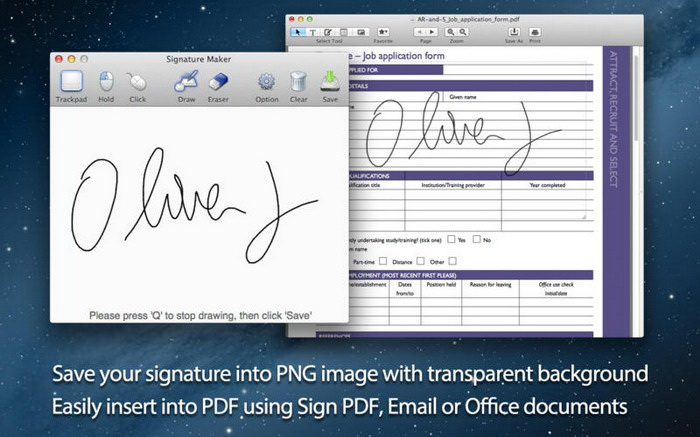 Signature Maker For Mac