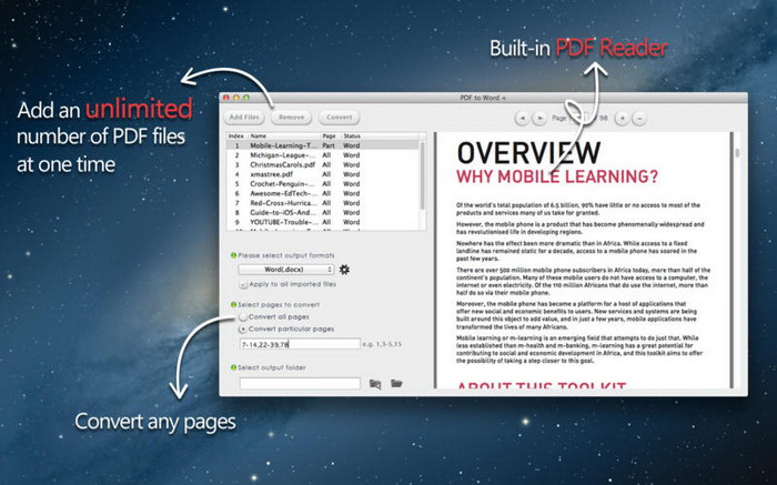 PDF to Word Converter for Windows