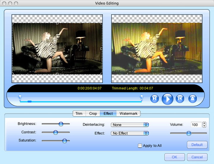 MacVideo DVD to 3GP Converter