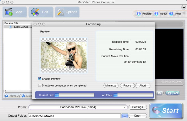 MacVideo iPhone Converter For Mac