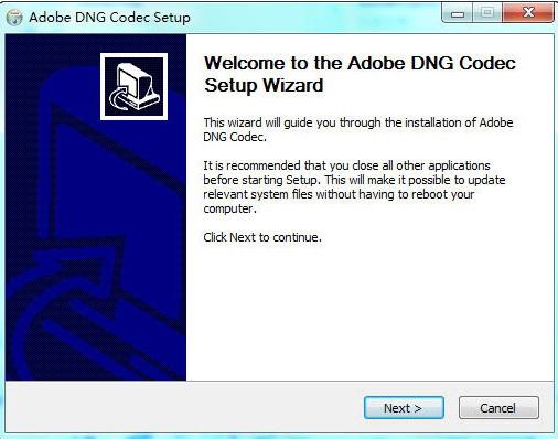 Adobe DNG Codec