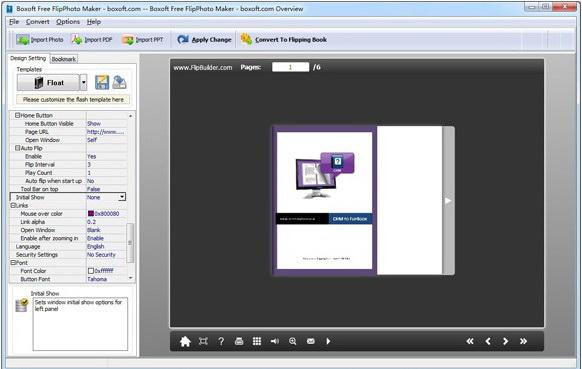 Boxoft Free FlipPhoto Maker