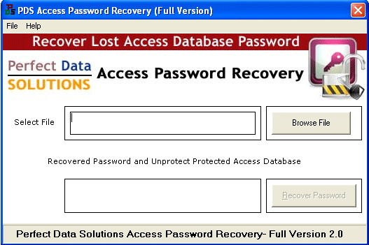 PDS Access Password Recovery