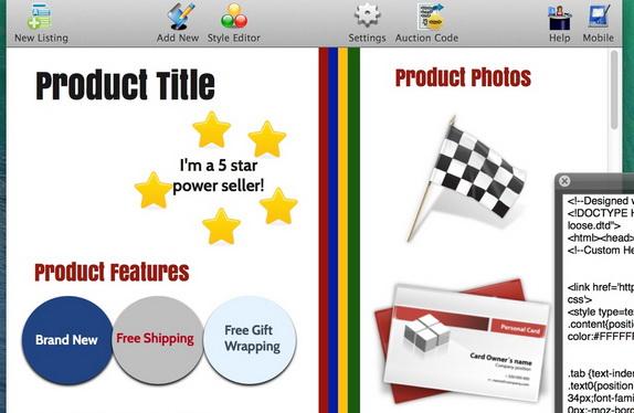 Auction Listing Designer For Mac