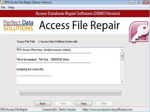 PDS Access File Repair