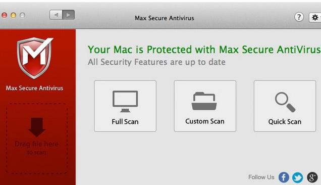 Max Secure Antivirus For Mac