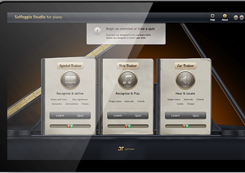Solfeggio Studio for Piano For Mac