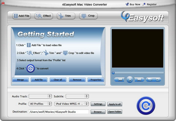 4Easysoft Mac Video Converter