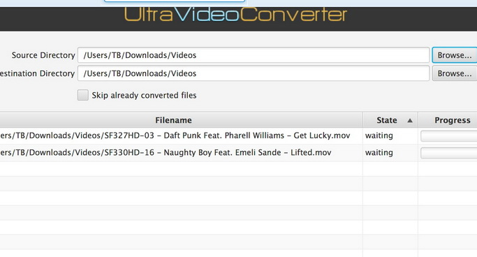 UltraVideoConverter For Mac