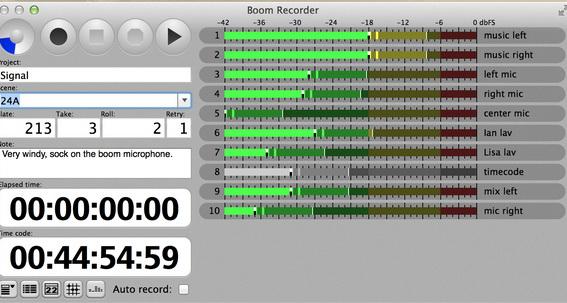 Boom Recorder For Mac