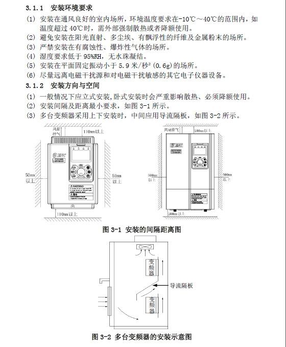 易能EDS3000-4T0150变频器使用说明书