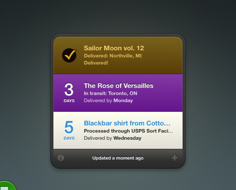Delivery Status For Mac