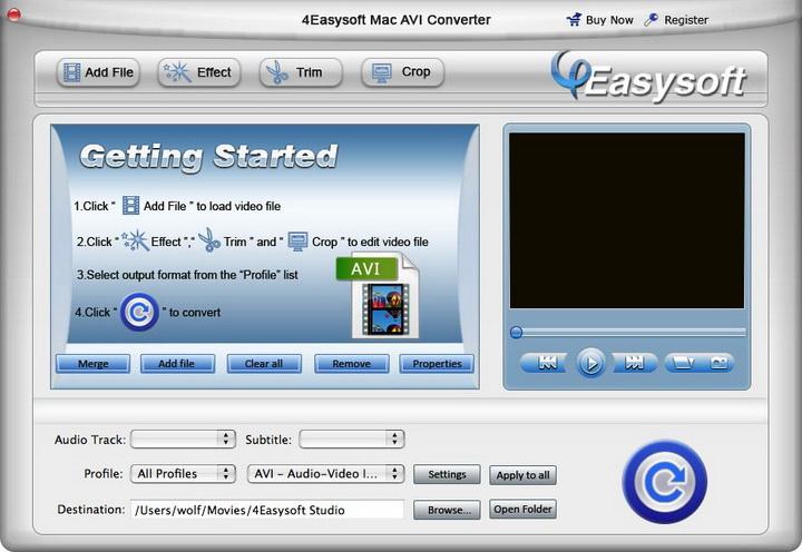 4Easysoft Mac AVI Converter