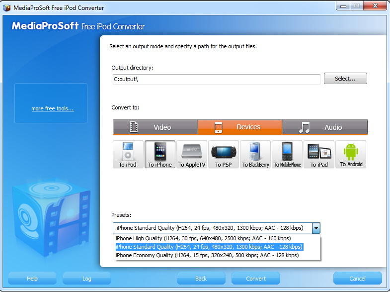MediaProSoft Free iPod Converter